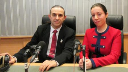 Анатолий Радев и Дария Василева