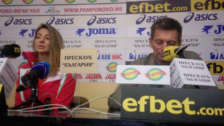 Александра Жекова и Виктор Жеков