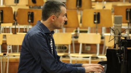 Армел Дюпа в Първо студио на БНР