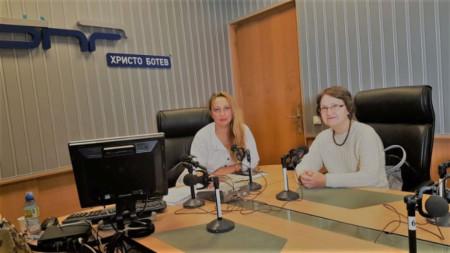 """Мария Мира Христова и Антоанета Йотова в студиото на """"Нашият ден"""""""
