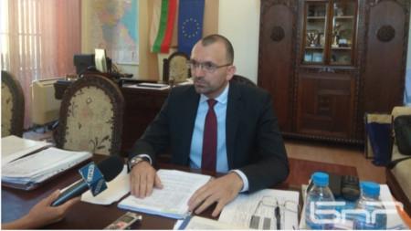 Вълчо Чолаков, областен управител на Бургас