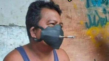Маска за пушачи...:)