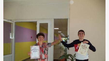 Ели Цветанова и Кристиян Георгиев