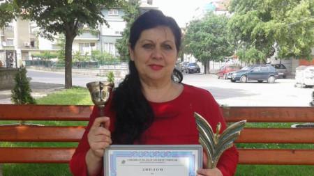 През 2015 година Татяна Йотова получи високото отличие на СБУ