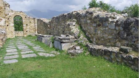 Varri i Mbretit Samoil në ishullin