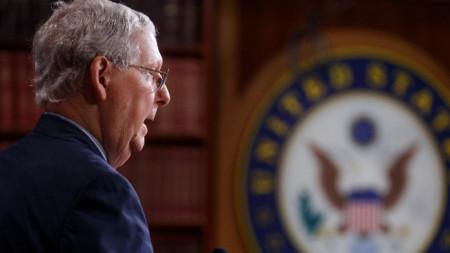 Лидерът на сенаторите – републиканецът Мич Маконъл