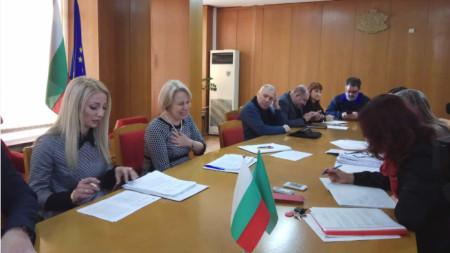 Заседание на Правната комисия