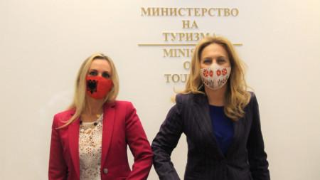 Ambasadorja Donika Hoxha dhe Ministrja Marijana Nikollova