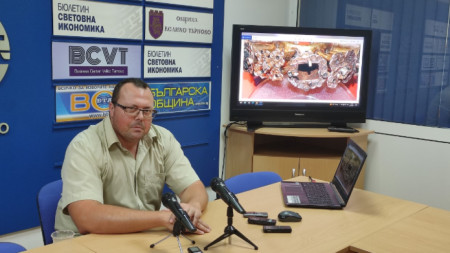 археологът Деян Рабовянов