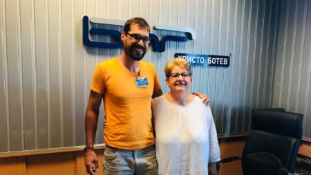 Богдан Дарев и Силвия Чолева