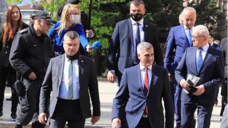 Президентът Румен Радев представи структурата, състава и приоритетите на служебното правителство