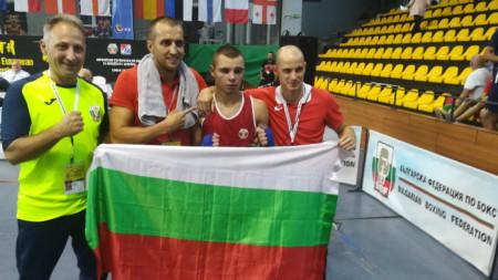 Ясен Радев е единият от двамата ни европейски шампиони