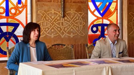Нелина Църова и Владимир Бошнаков