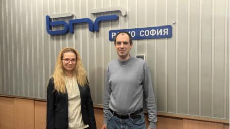 д-р Цветелина Великова и д-р Александър Атанасов