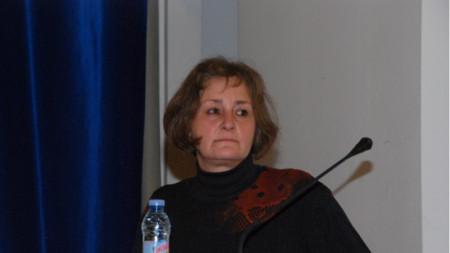 Професор Горица Найденова от Института за изследване на изкуствата към БАН
