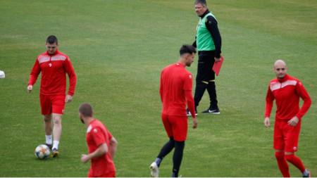 Любослав Пенев разпусна отбора до петък.