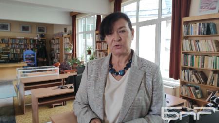 Главен библиотекар Мариета Главчовска