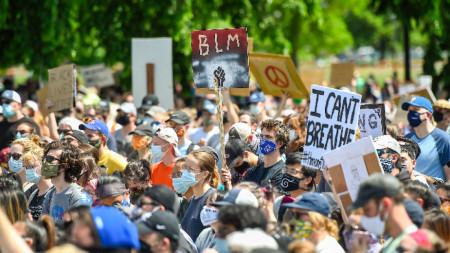 САЩ, протести
