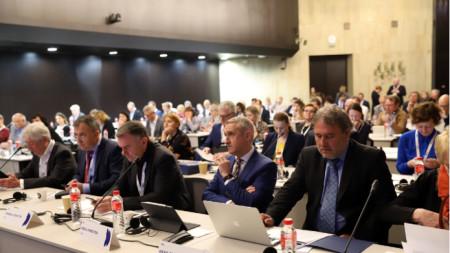 Започна 25-ата Радиоасамблея на Европейския съюз за радио и телевизия (EBU) в София.