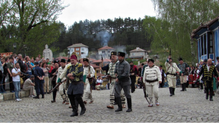 Reenactment of April Uprising in Klisura