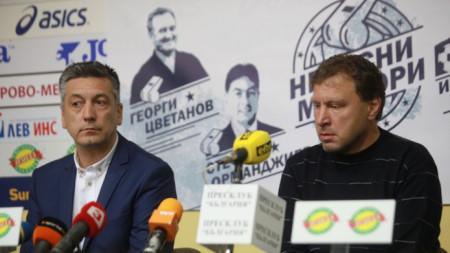 Велислав Вуцов говори за турнира на 1 май.