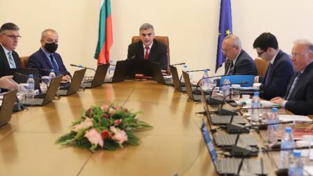 Заседание на служебния кабинет, 28 юли 2021 г.