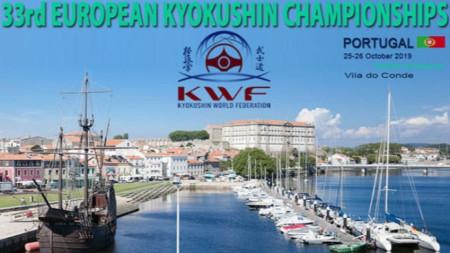 Плакатът на шампионата в Португалия.