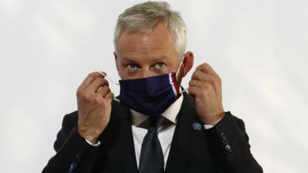 Брюно льо Мер, финансов министър на Франция