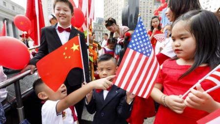 Честване на китайския национален празник в Ню Йорк през 2019 г.