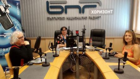 Доц. Георги Лозанов, Диана Янкулова и проф. Антоанета Христова