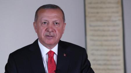 Турският президент Реджеп Ердоган
