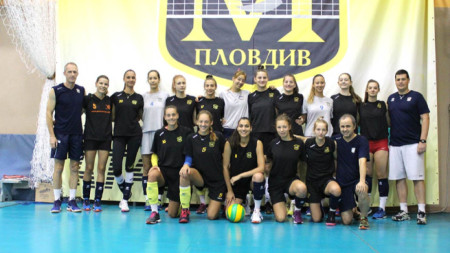 Марица започна подготовка с 16 волейболистки.