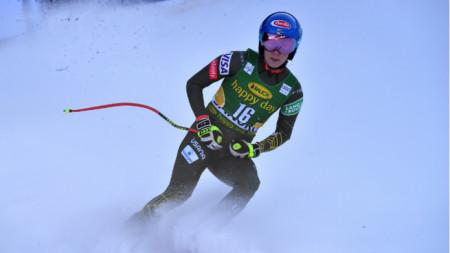 Шифрин спечели за втори път в кариерата си спускане.