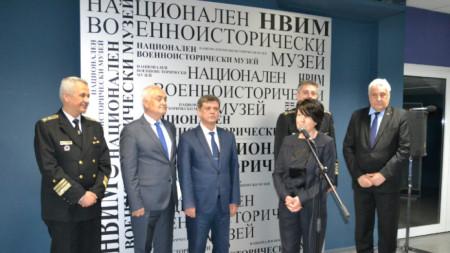 """Събитието е част от програмата на научна конференция на тема """"Ролята на Военноморските сили на Република България в защита на националните интереси"""", чийто домакин е Националният военноисторически музей"""