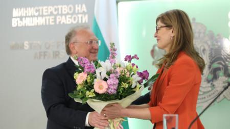 Светлан Стоев и Екатерина Захариева