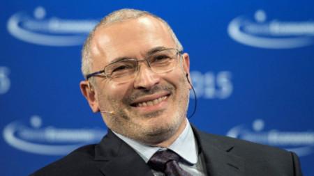Михаил Ходорковски, бивш собственик на фалиралата петролна компания