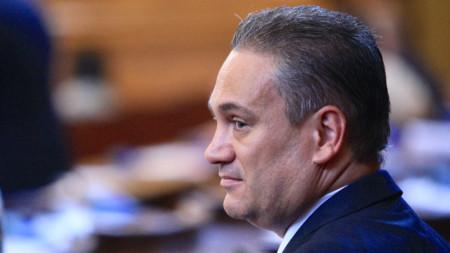 Пламен Георгиев присъства в пленарната зала, но не беше изслушан.