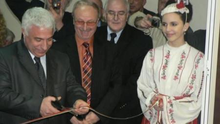 Валерий Тодоров преряза лентата на технологичния и студиен комплекс на Радио ВИДИН