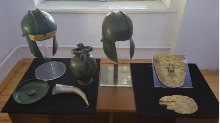 Откритите експонати са изложени в българския Национален археологически музей, в Народния музей на Белград и в музея в град Охрид.