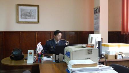 Главен инспектор Георги Георгиев, началник на РСПБЗН- Видин