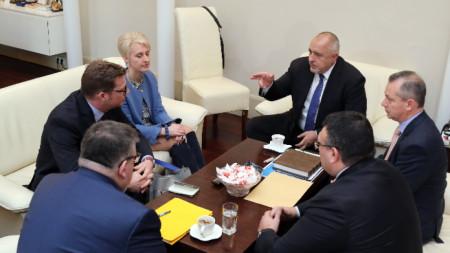 Среща в Министерския съвет по случая
