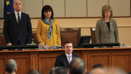 Бойко Атанасов положи клетва като председател на КФН