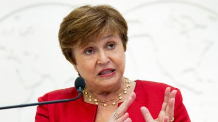 Кристалина Георгиева, шеф на МВФ