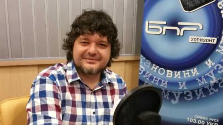 """Антон Вълев в студиото на """"Преди всички"""""""