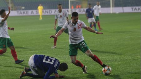 Иван Горанов е под въпрос за плейофа срещу Унгария.