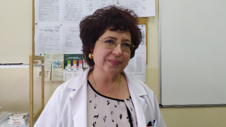Проф. Пенка Атанасова - нач. Клиника по нервни болести, УМБАЛ