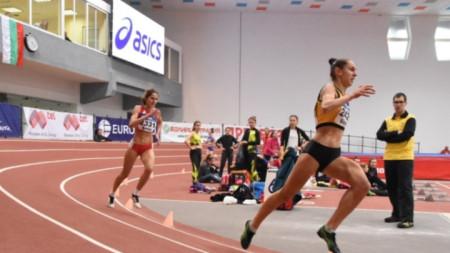 Лиляна Георгиева (на преден план) не е бягала от март 2018 г.