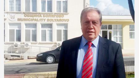 Христо Христов, кмет на община Болярово
