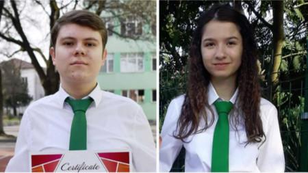 Радослав Попов и Иванна Иванова, 10 клас, ППМГ , Видин