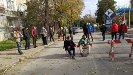Днешният протест в Силистра